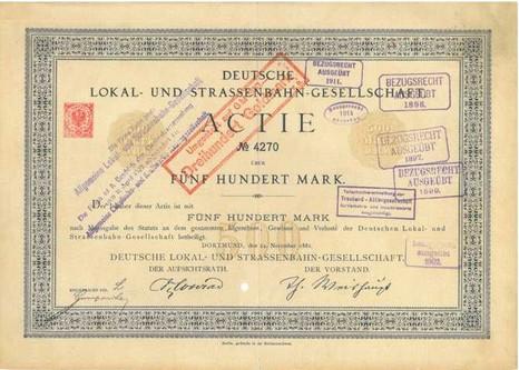 Aktie Deutsche Bahn